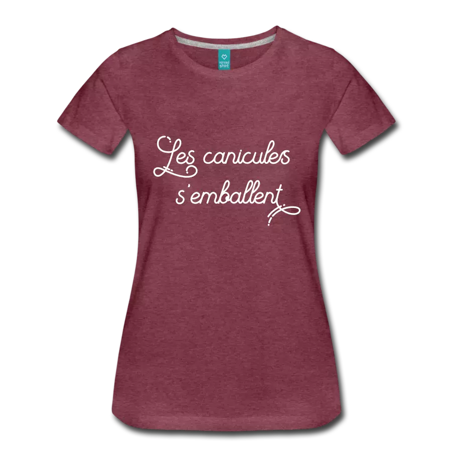 tshirt les canicules s'emballent