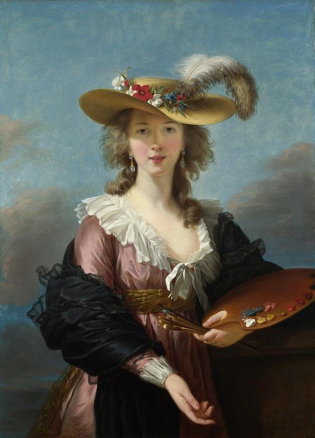 Autoportrait vigée librun