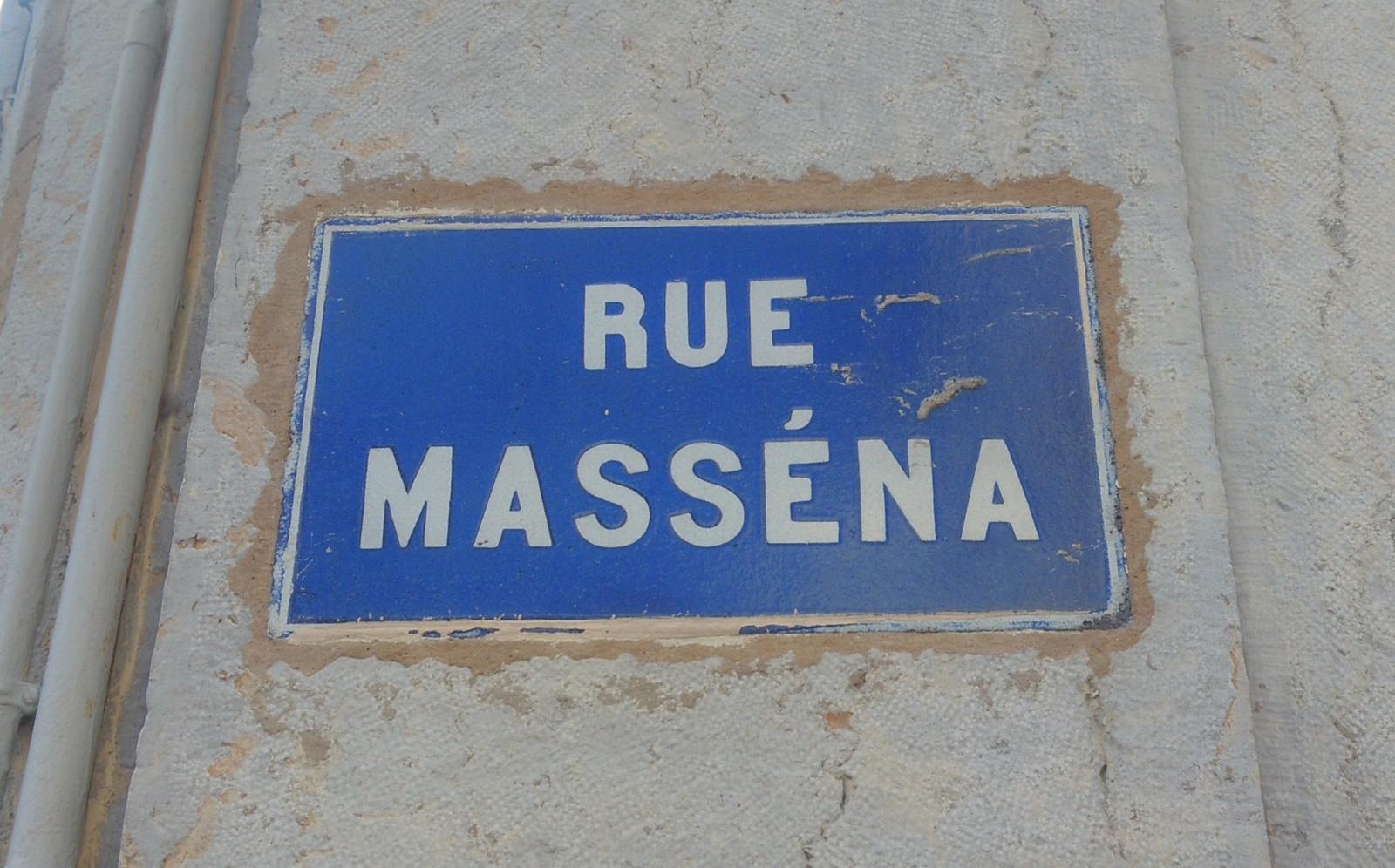 Contrepèterie Rue Masséna